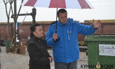 Министерката Ременски го посети Транзитниот центар на Табановце (галерија+видео)