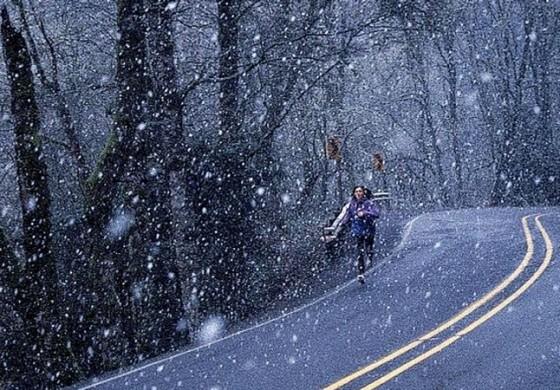 Снег во Крушево, Маврово и Лазарополе