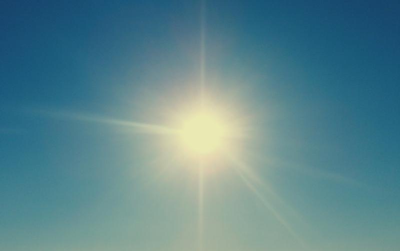 Летно сонце  есенска температура