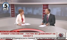Оливер Спасовски и уредничката на Канал 5 во жестока расправија (видео)