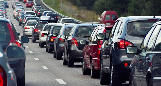 Зголемен интензитетот на сообраќај на автопатиштата