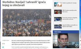 Натпреварот Куманово - МЗТ е топ тема и на балканските портали (фото)