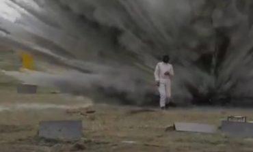 Тест на издржливост: Русинка се прошета низ минско поле (видео)