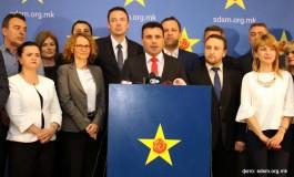 Зоран Заев: СДСМ нема да учествува на изборите на 5-ти јуни (видео)