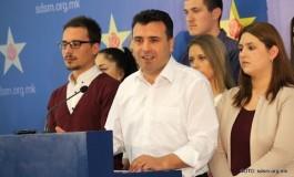 Заев: Повикувам на широк граѓански фронт за слободна Македонија (видео)