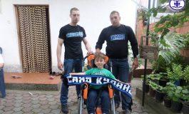 """""""Кумани"""" донираа за количка на малиот Алексеј (фото)"""