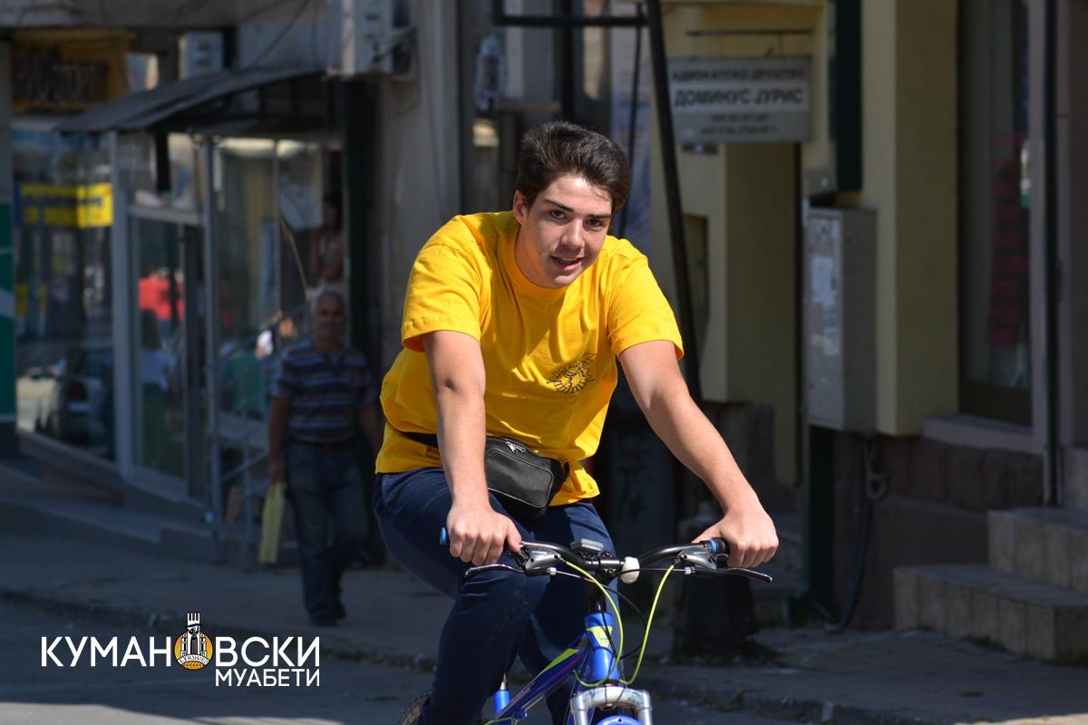 (ГАЛЕРИЈА) Недела на европска мобилност во Куманово