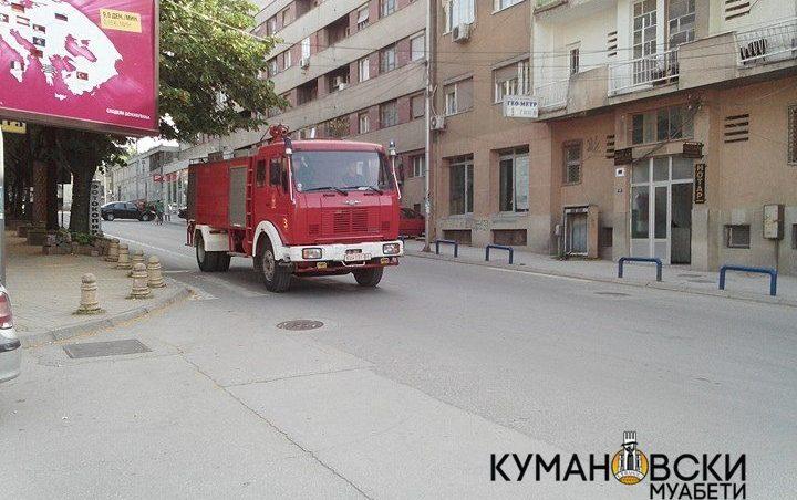 Пожар од двор на куќа се проширил и зафатил камион