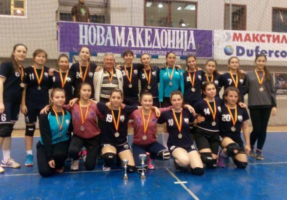 Кадетките на ЖРК Куманово на турнир во Смедерево