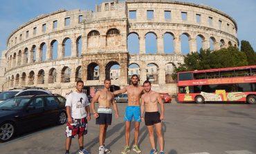 Членовите на Бар Гладијаторс со нови успеси од Хрватска (фото+видео)