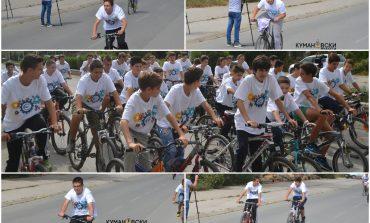Со велосипедска трка одбележана Неделата на европска мобилност (галерија+видео)