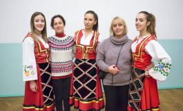 """Ученици од """"Перо Наков"""" во посета на Белорусија (галерија)"""