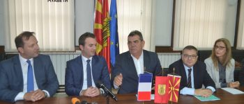 Францускиот амбасадор Тимоније во посета на Општина Куманово (фото+видео)