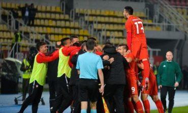 Историска победа за младите македонски фудбалери