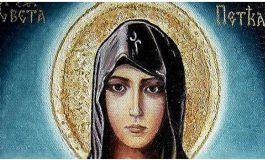 Верниците го чествуваат празникот Света Петка