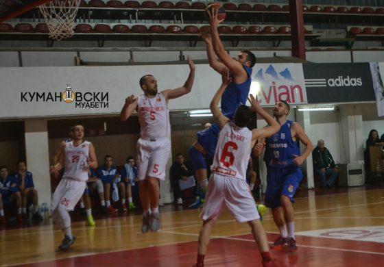 КК Куманово против Работнички во првото коло од домашниот шампионат