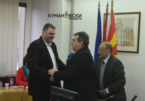 Александар Арсиќ нов претседател на Советот на Општина Куманово (фото)
