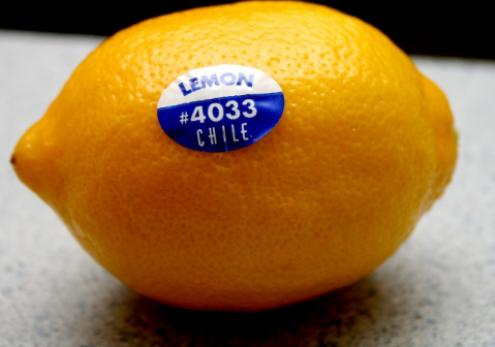 Што значат налепниците на овошјето?
