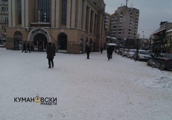 ОК ВМРО-ДПМНЕ: Градоначалникот не презеде ништо за чистење на снегот (фото+видео)