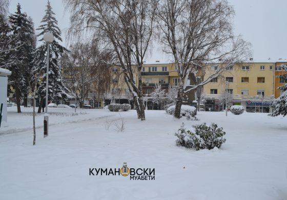 Снежната покривка денеска ќе нарасте од 30 до 50 сантиметри