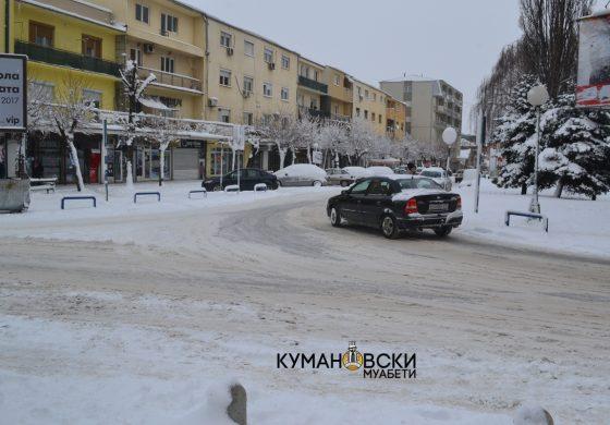 Кумановец тргнал со болното дете на лекар па заглавил во снегот