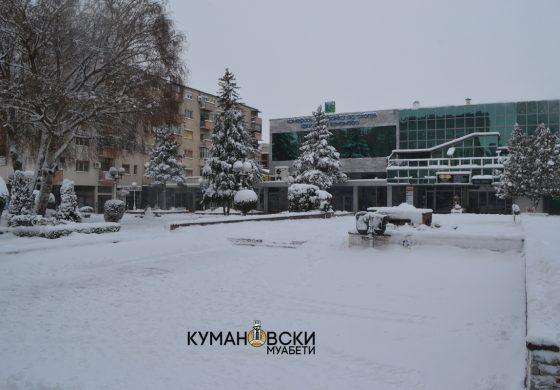 Уште денес кочан ладно, па следува топење на снегот и нови врнежи