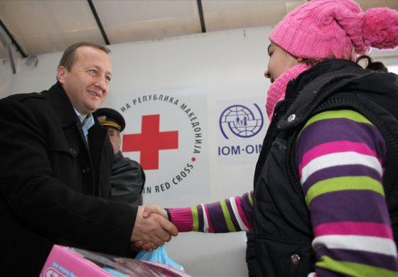 Министерот Нухиу го посети ТЦ Табановце (фото)