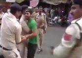 Кој краде изеде га стап на сред улицу (видео)