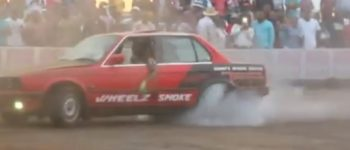 Вртење на автомобил во круг е официјален спорт (видео)