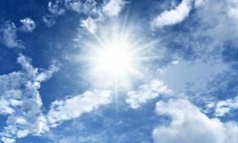 Сончево и топло со температури до 25 степени