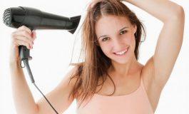 Грешки кои се прават при сушење коса со фен