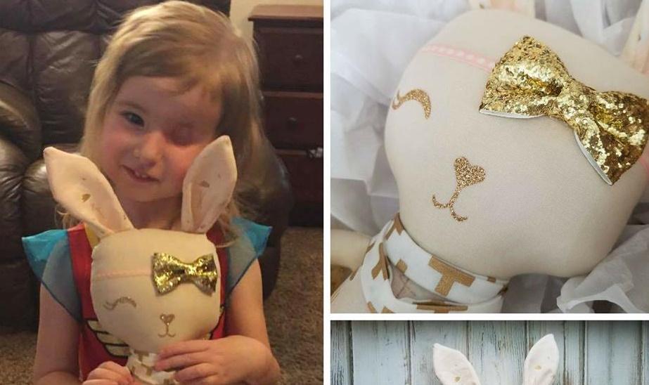 Срцето ќе ви се стопи: Девојче го загуби окото поради рак, а нејзината мајка го направи ова