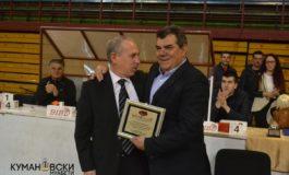 Признание за развој на спортот на Балканот за градоначалникот Зоран Дамјановски (фото)