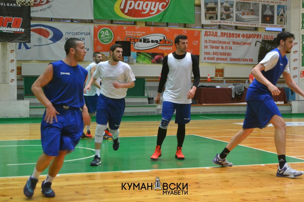 Србиновски: Берое е најдобриот клуб во БИБЛ лигата, но нема да кренеме бело знаме (галерија)