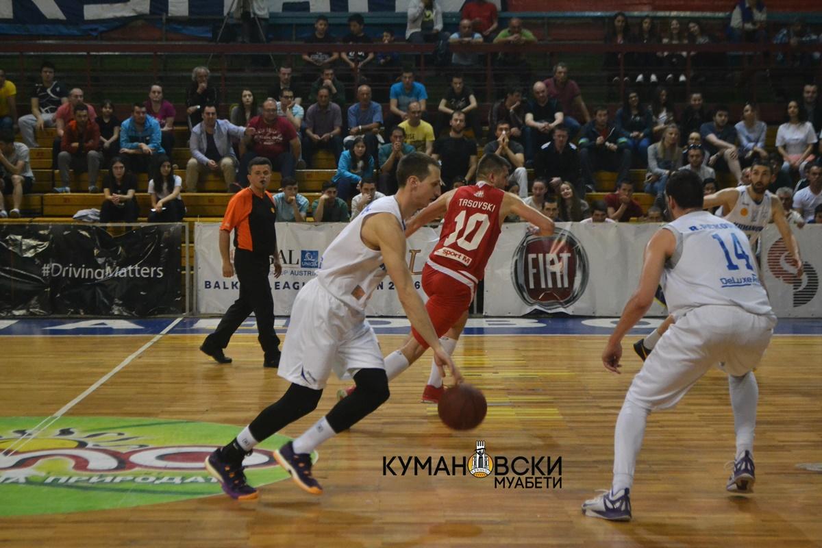 Со тројката на Живановиќ, КК Куманово до победа над Работнички (галерија+видео)
