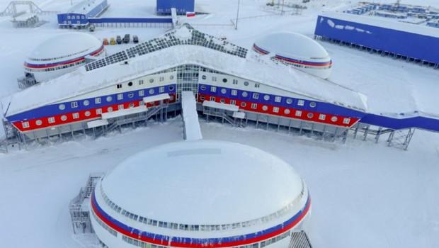 """Први фотографии од новата база на Путин: Прошетајте низ """"Арктичката детелина"""" (фото, 3Д)"""
