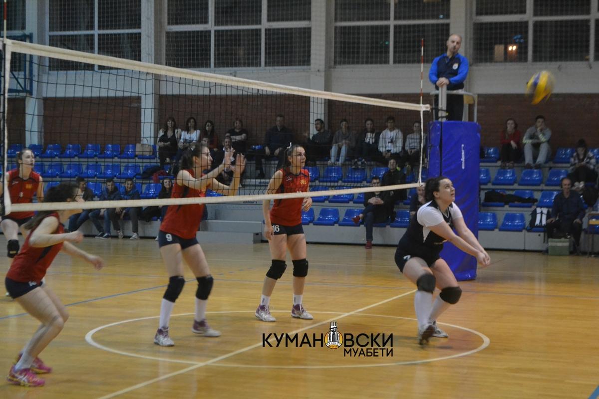 Третиот финален меч помеѓу СВСК и Јанта Волеј се игра вечерва во Куманово