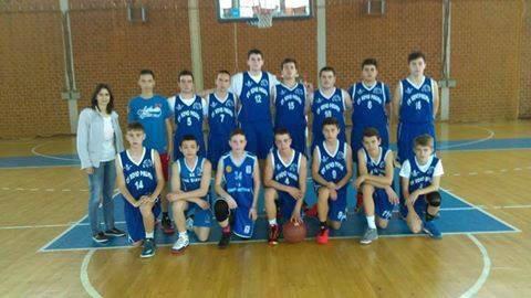 """Учениците од ООУ """"Кочо Рацин"""" први во Македонија на државниот натпревар во кошарка"""