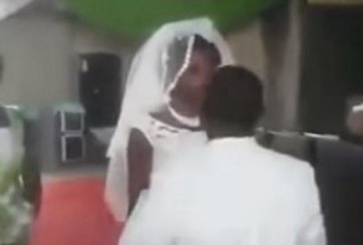 Што ли е овј јадник погрешија још на венчање? (видео)