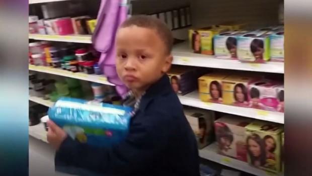 К'д дете ќе те поруга у продавницу (видео)