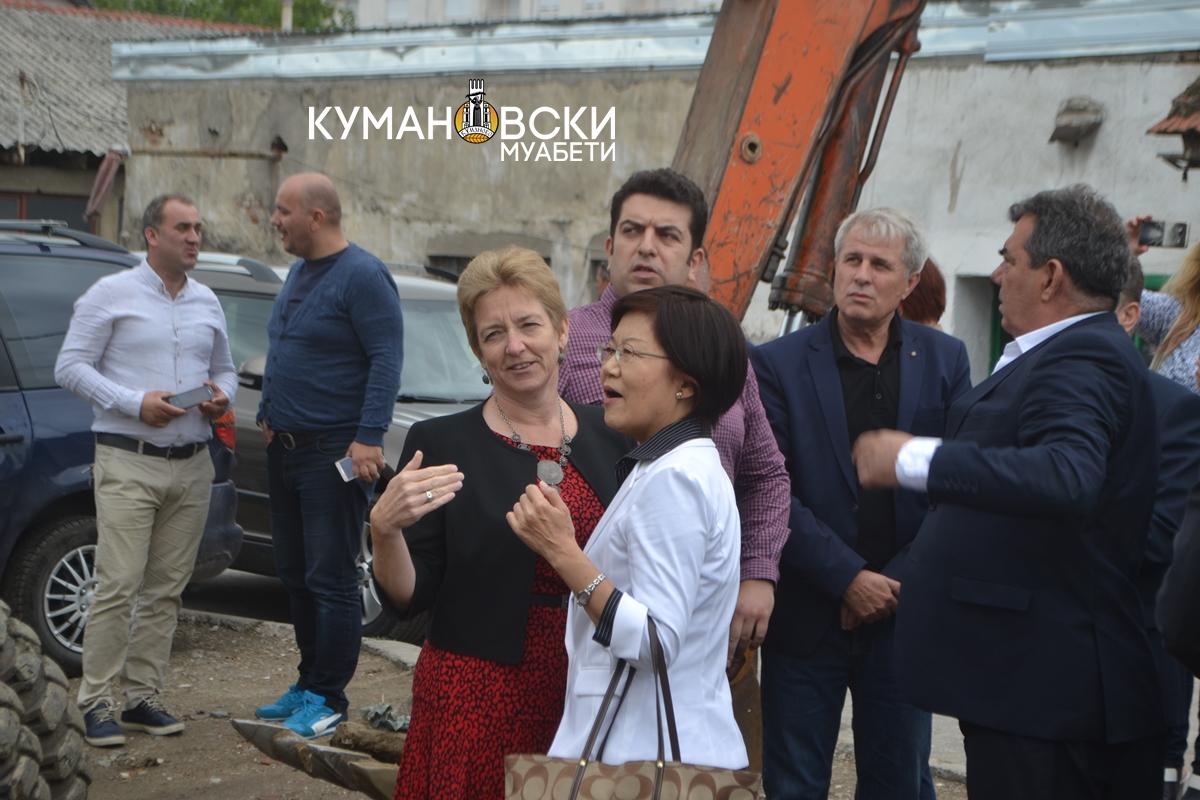 Започна проектот за регулација на речното корито на Липковка (фото)