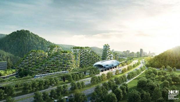 ГРАД-ШУМА: Како ќе изгледа најзелениот град во светот? (фото)