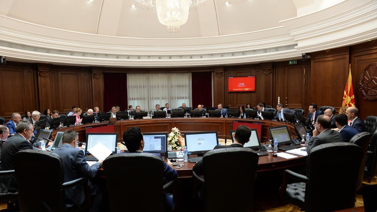 Евроинтеграциите и приоритетите за влез во НАТО на владина седница