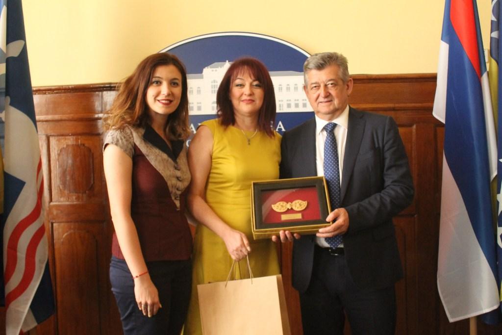 Претставници на Општина Куманово во посета на Бјелина (фото)