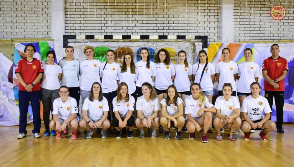 Мила, Јована и Тамара од ЖРК Куманово брилијантни во репрезентацијата на Македонија