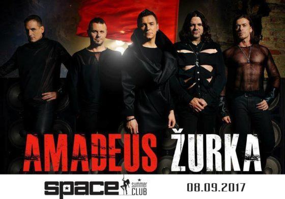 100 посто добра забава со 100 посто мега популарните Амадеус бенд во Summer Club Space