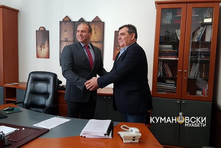 Максим Димитриевски ја презема градоначалничката функција на Општина Куманово