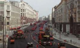 Како се асфалтираат улиците во Москва? (видео)