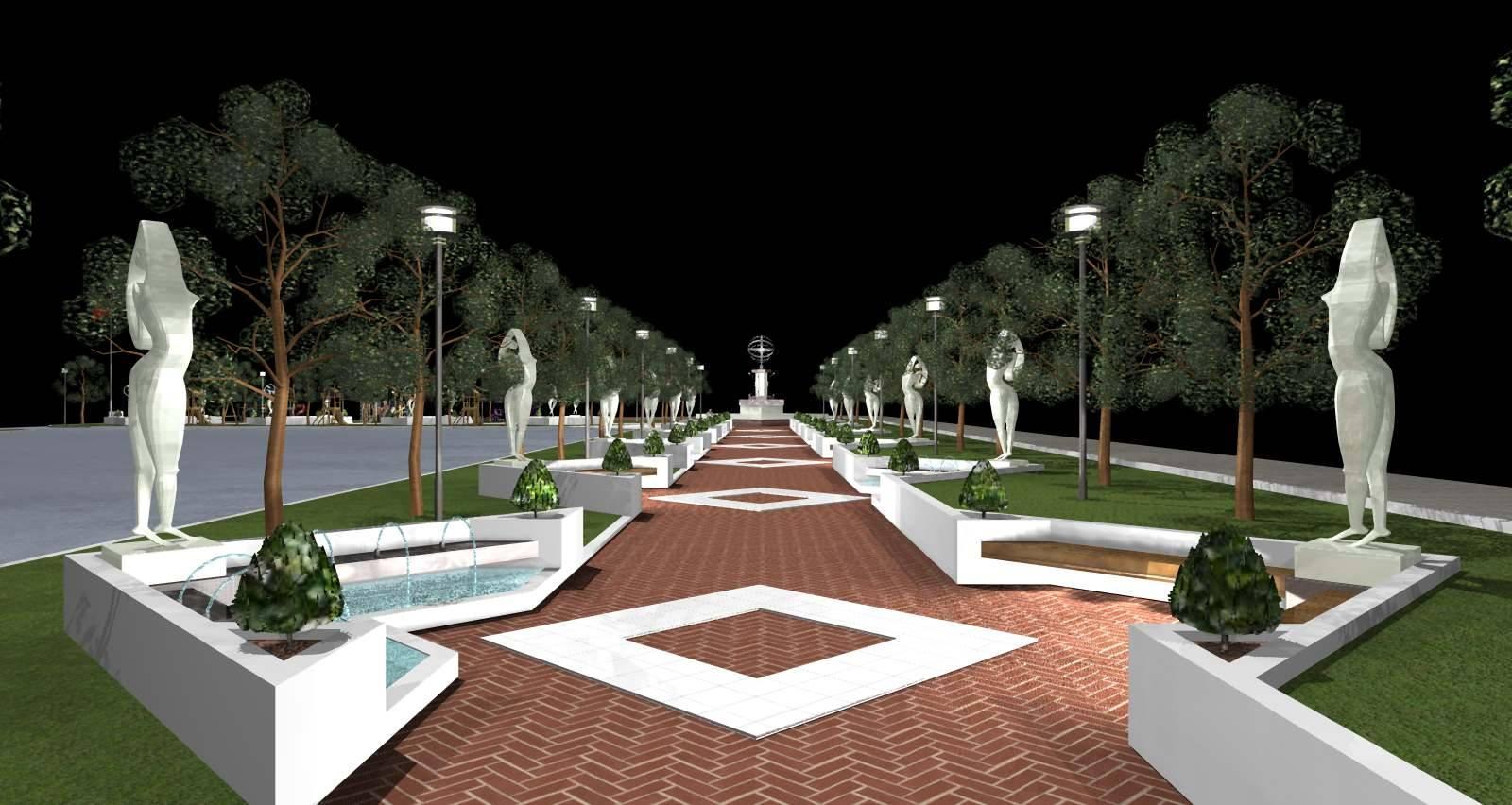 """До 20 ноември треба да биде изградено партерното уредување на """"Паркот на бранителите"""""""