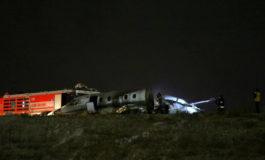 Авион се запали на аеродромот во Истанбул (видео)